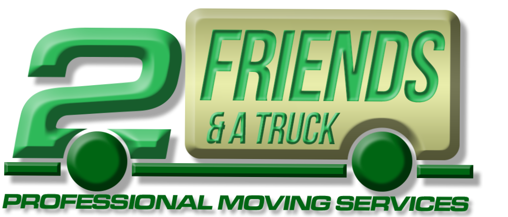 2 friends and a truck moving company in Tampa logo